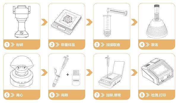 重金属检测流程
